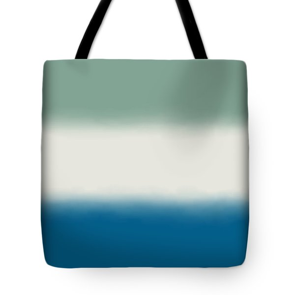 Ocean Colors - Sq Block Tote Bag