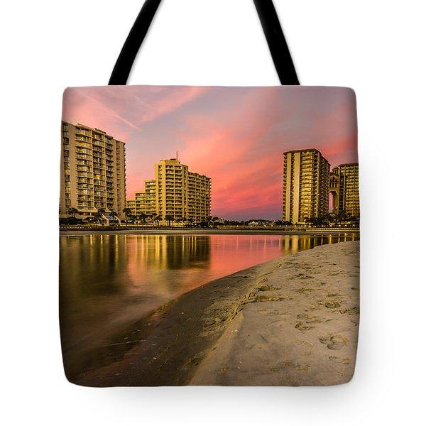 Ocean Creek Tote Bag by David Smith