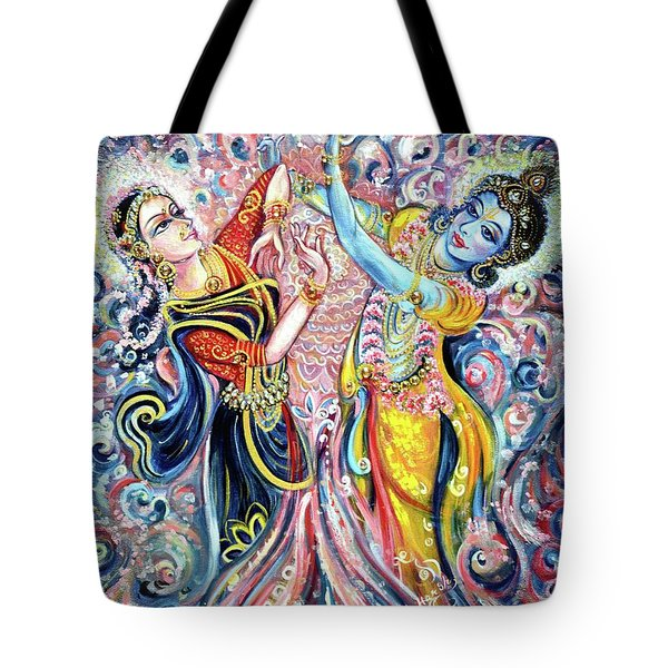 Ocean Dance Tote Bag by Harsh Malik