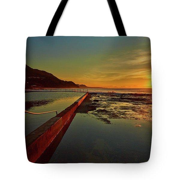 Ocean Dawn Tote Bag