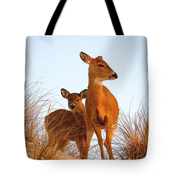 Ocean Deer Tote Bag