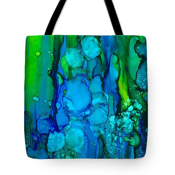 Tote Bag featuring the painting Ocean Depths by Nikki Marie Smith