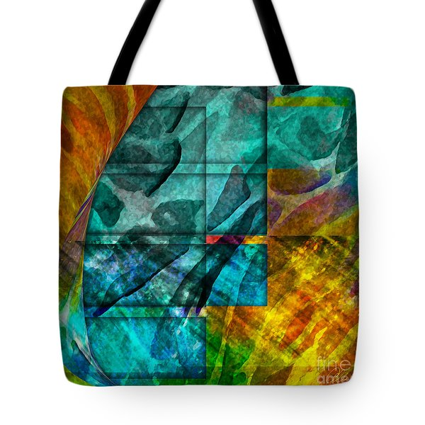 Ocean Doors Tote Bag by Allison Ashton