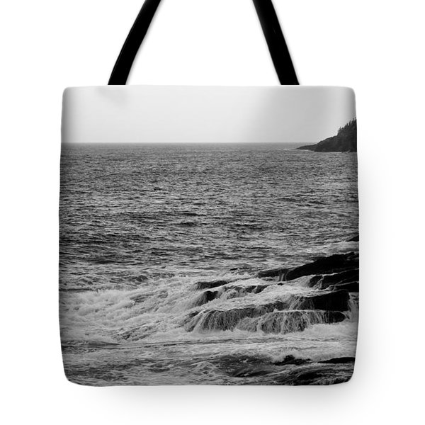 Tote Bag featuring the photograph Ocean Drive by Greg DeBeck
