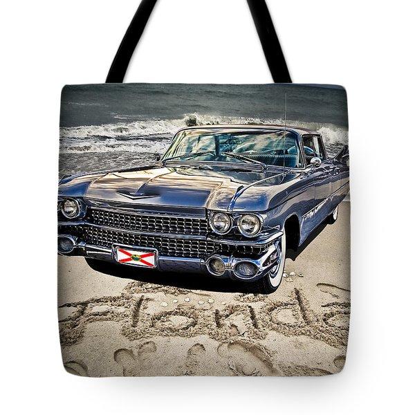Ocean Drive Tote Bag by Joachim G Pinkawa