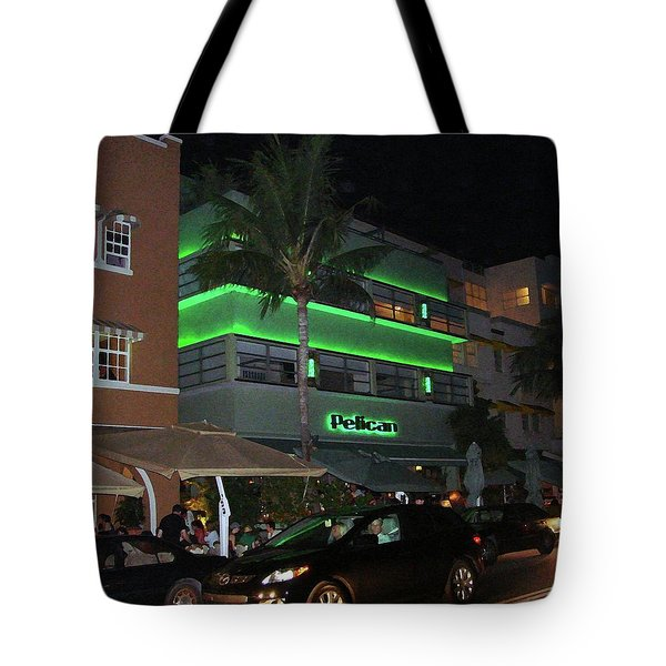 Ocean Drive Miami Beach Tote Bag