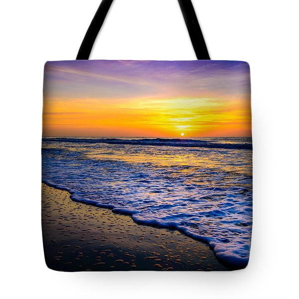 Ocean Drive Sunrise Tote Bag