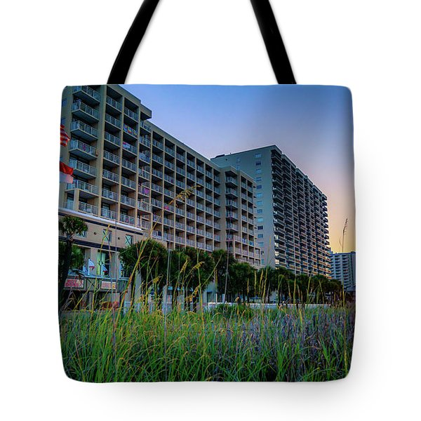 Ocean Drive Sunrise North Myrtle Beach Tote Bag