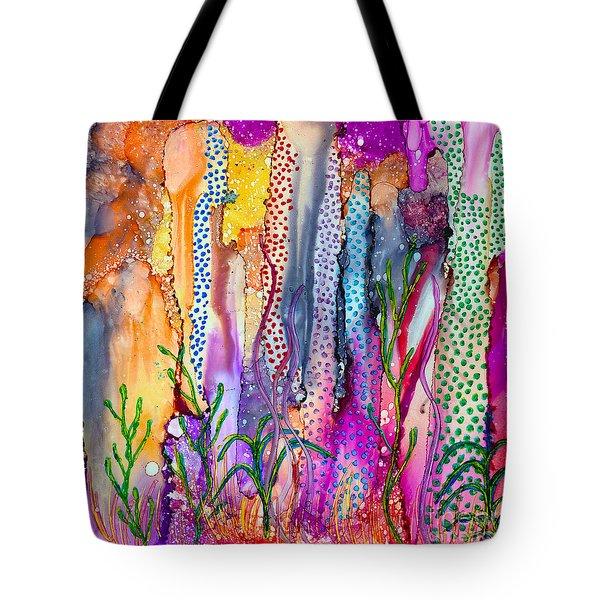Ocean Floor Tote Bag by Alene Sirott-Cope