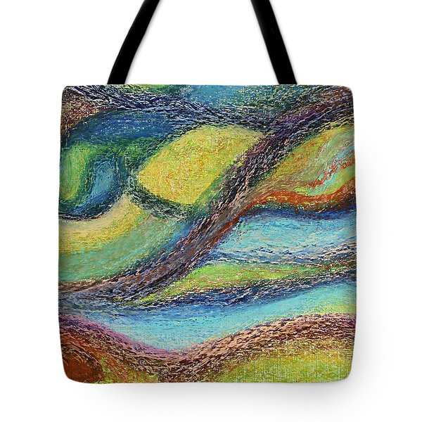 Ocean Flow Tote Bag