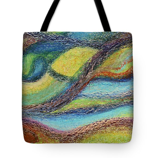 Ocean Flow Tote Bag