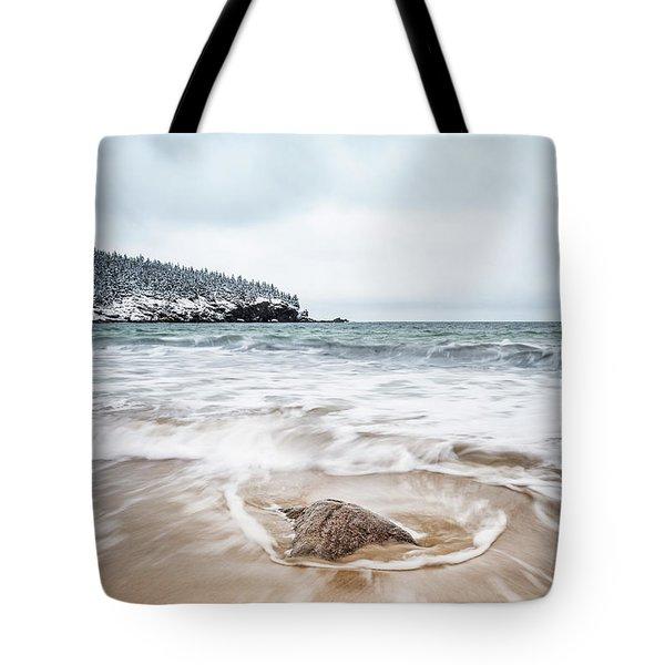 Ocean Flows Tote Bag
