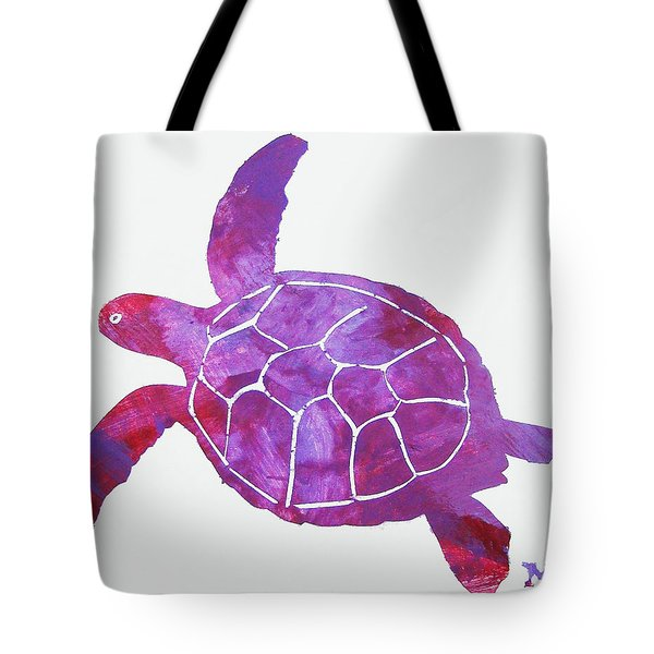 Tote Bag featuring the painting Ocean Freedom by Candace Shrope