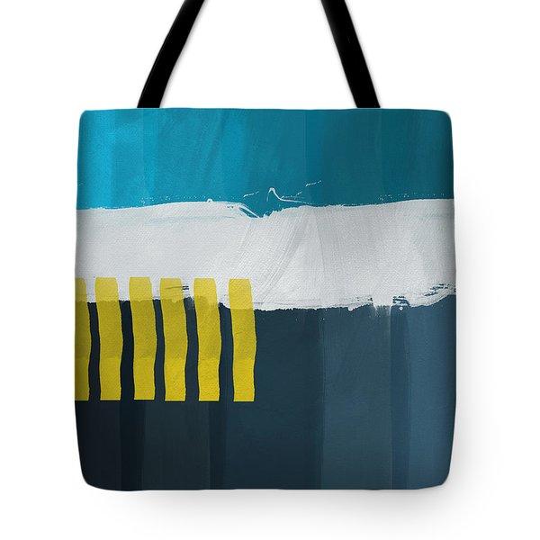 Ocean Front Walk 2- Art By Linda Woods Tote Bag