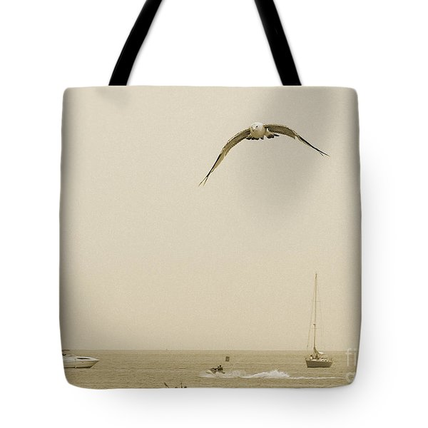 Tote Bag featuring the photograph Ocean Fun by Raymond Earley