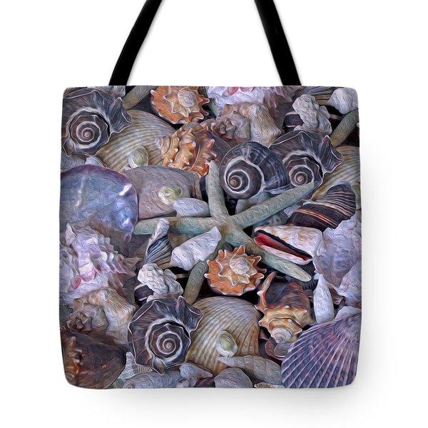 Ocean Gems 11 Tote Bag by Lynda Lehmann
