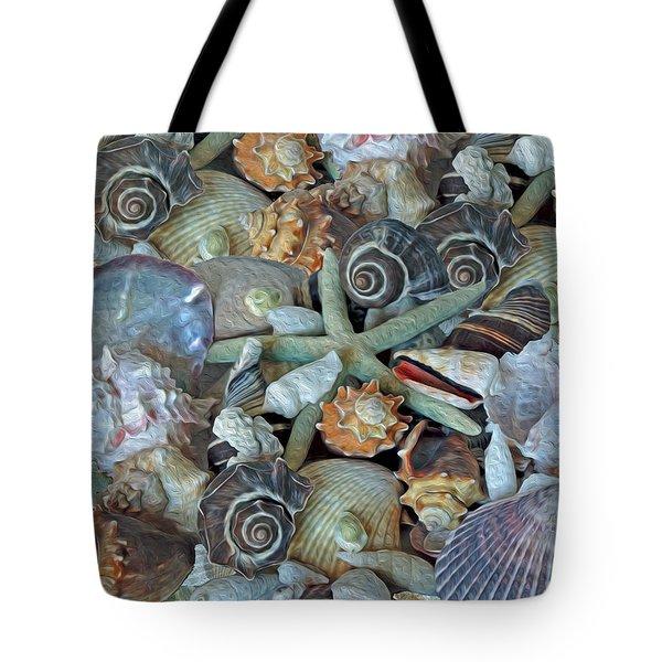 Tote Bag featuring the photograph Ocean Gems 5 by Lynda Lehmann