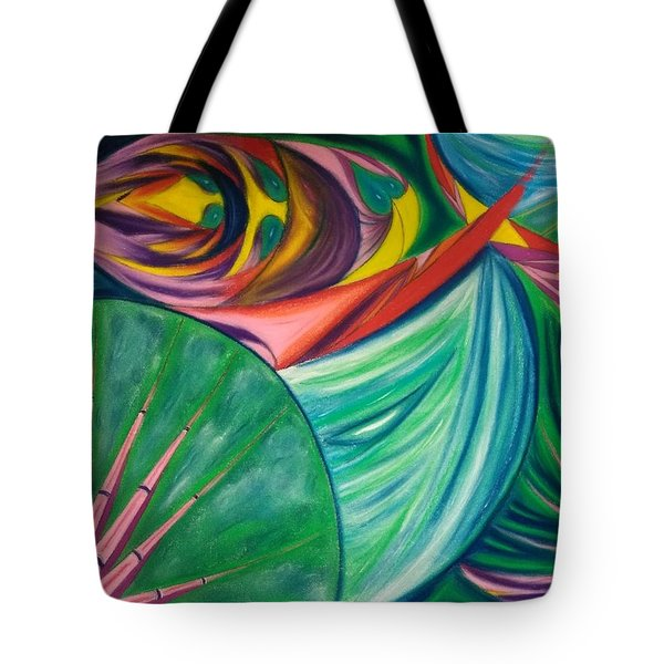 Ocean Graffiti Tote Bag