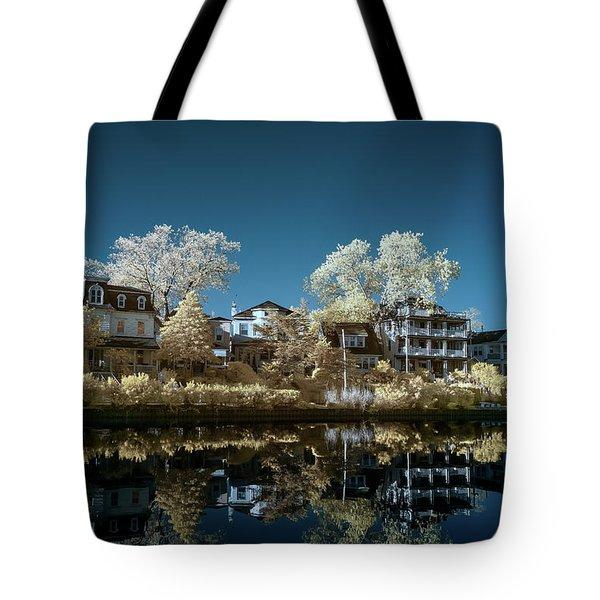 Ocean Grove Nj Tote Bag by Paul Seymour