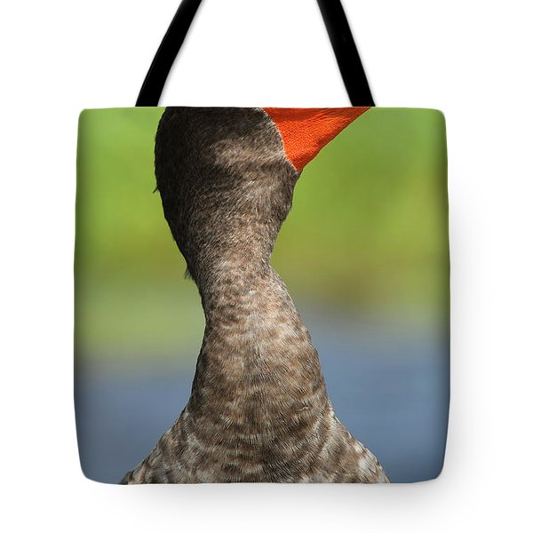 Ocean In Its Eyes Tote Bag