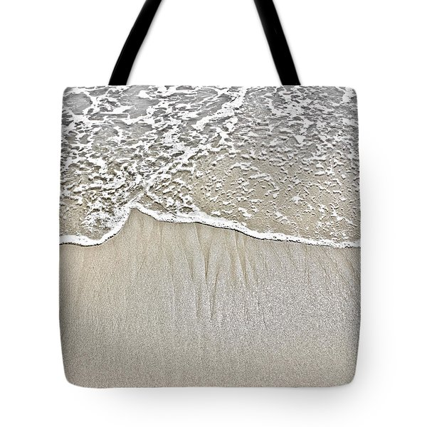 Ocean Lace Tote Bag by Colleen Kammerer