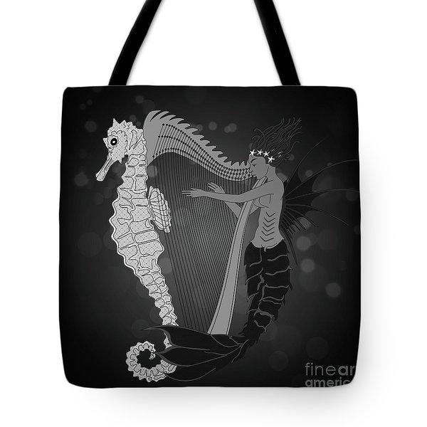 Tote Bag featuring the digital art Ocean Lullaby2 by Megan Dirsa-DuBois