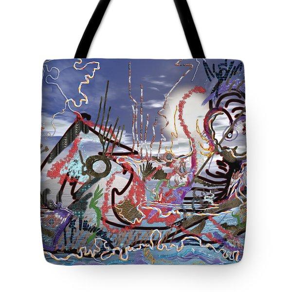 Ocean Tote Bag by Marko Mitic