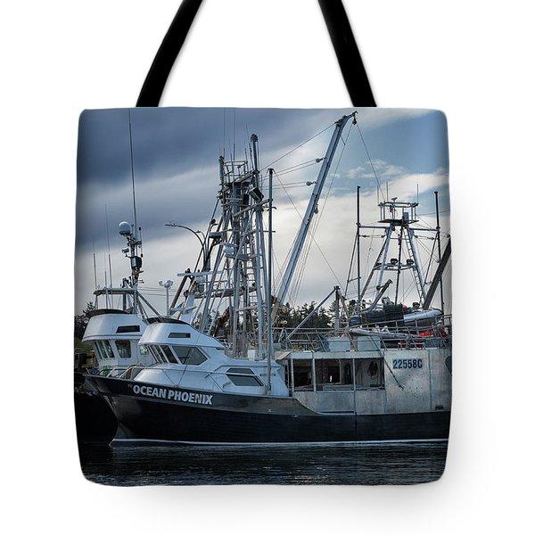 Ocean Phoenix Tote Bag