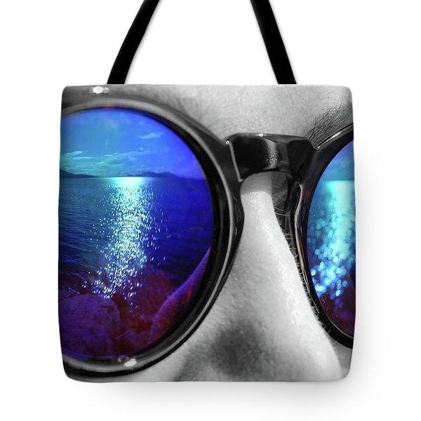 Ocean Reflection Tote Bag