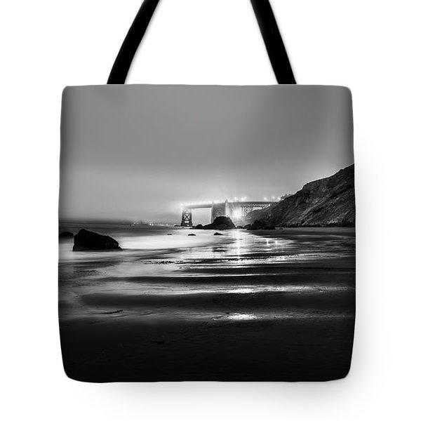 Ocean Rhythm Tote Bag by Jon Glaser