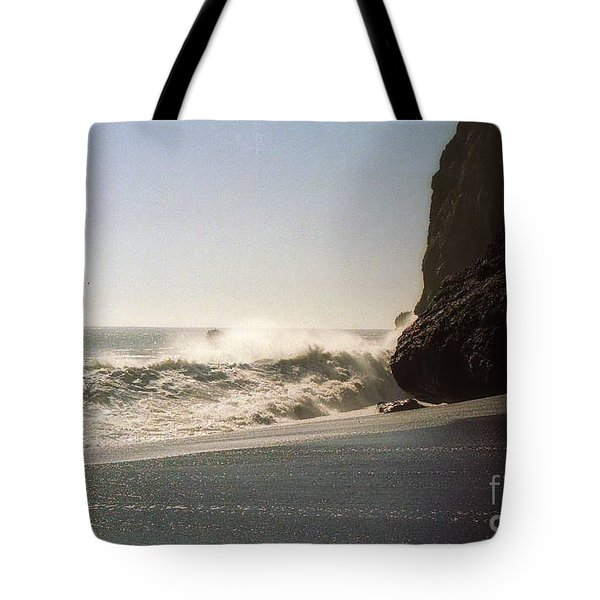 Ocean Rock Beach Headlands Tote Bag