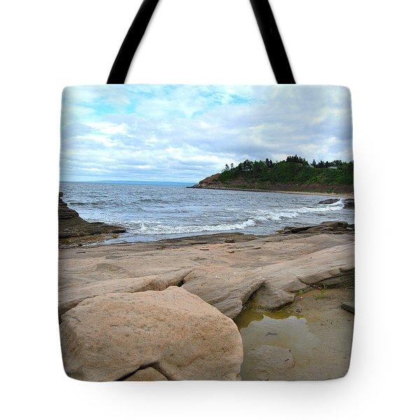 Ocean Rocks - Nova Scotia Tote Bag
