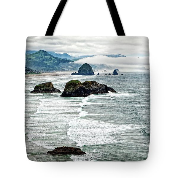 Ocean Rocks Off The Oregon Coast Tote Bag