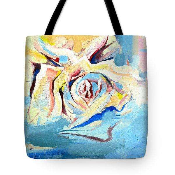 Ocean Rose Tote Bag