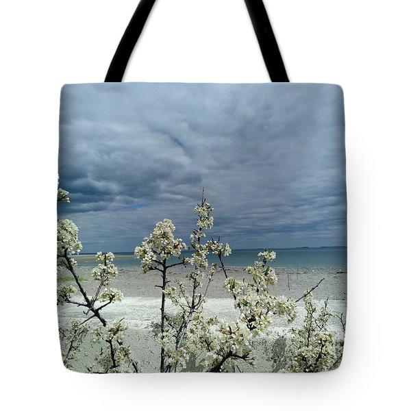 Ocean Spring Tote Bag