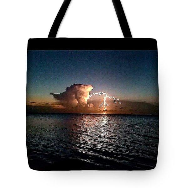Ocean Strike- Filtered Tote Bag