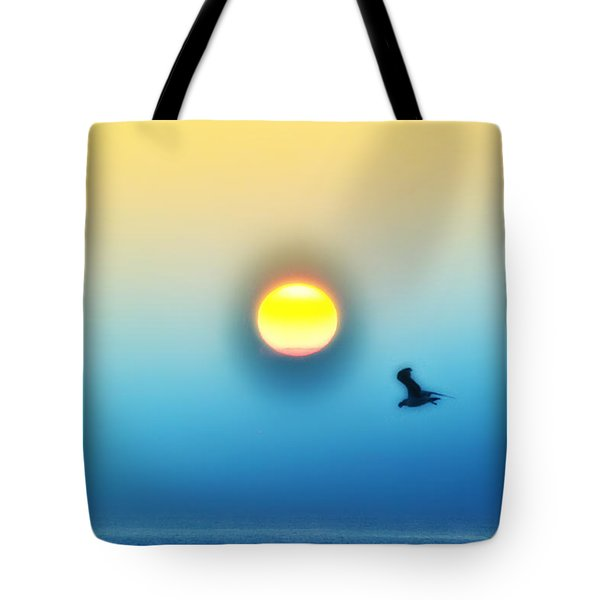 Ocean Sunrise Tote Bag by Bill Cannon
