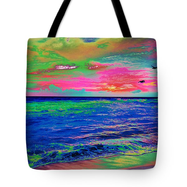 Ocean Sunset 2 Tote Bag