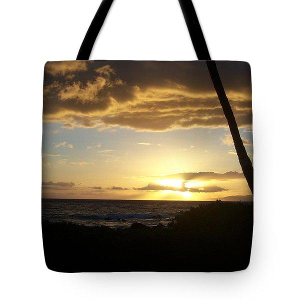 Ocean Sunset Tote Bag
