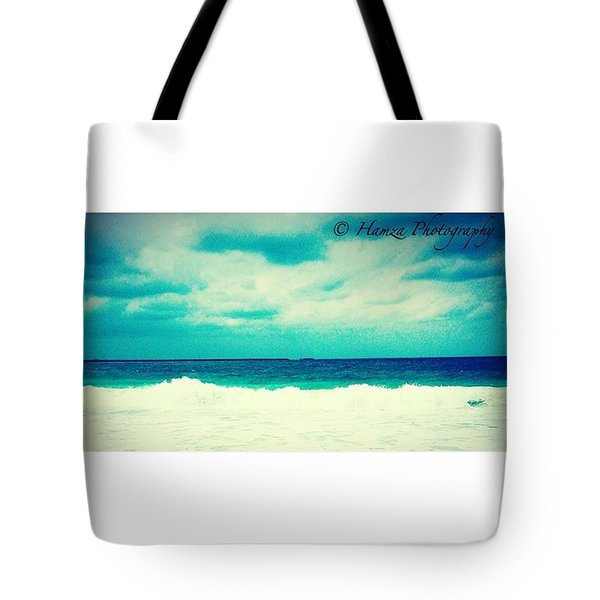 Ocean Tides Or Waves Tote Bag