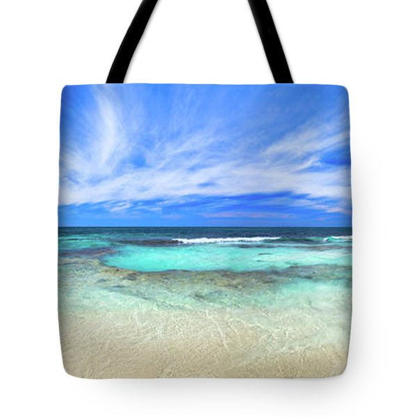 Tote Bag featuring the photograph Ocean Tranquility, Yanchep by Dave Catley