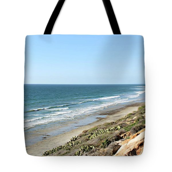 Ocean View Tote Bag