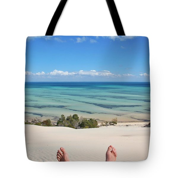 Ocean Views Tote Bag