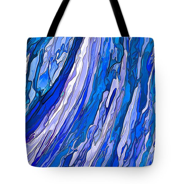 Ocean Wave Tote Bag by ABeautifulSky Photography