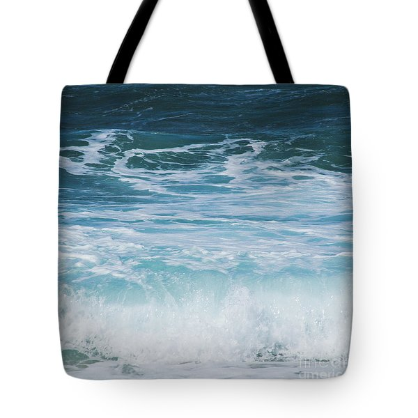 Ocean Waves From The Depths Of The Stars Tote Bag by Sharon Mau