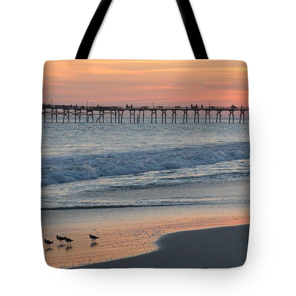 Oceanana Shorebirds Tote Bag
