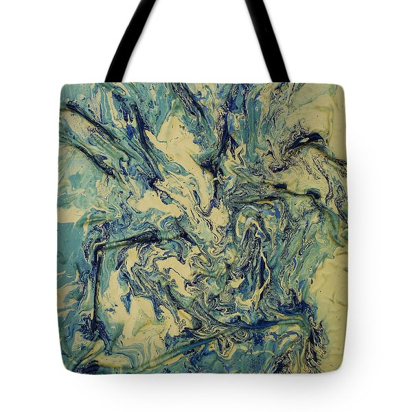 Oceanic Abstraction Tote Bag