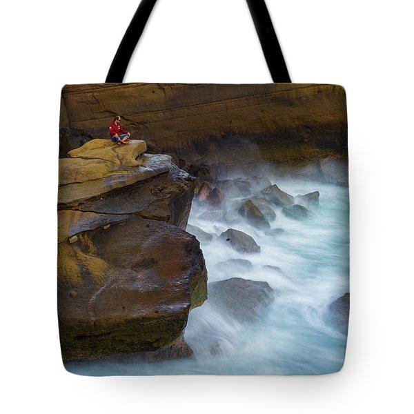 Oceanic Meditation Tote Bag