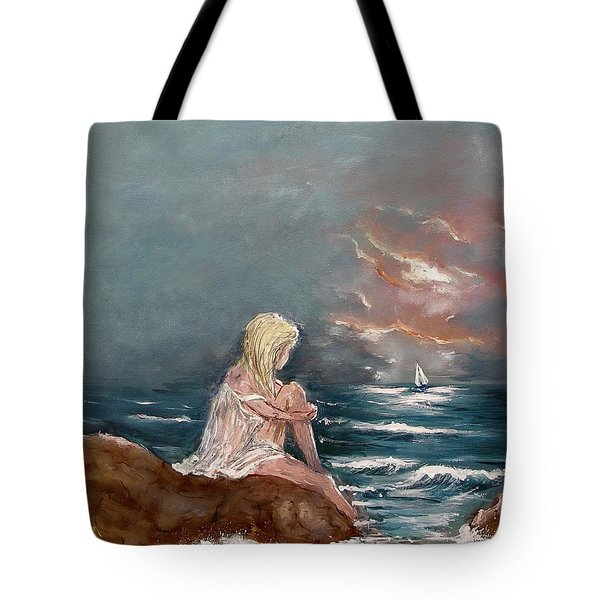 Oceanic Relaxation Tote Bag