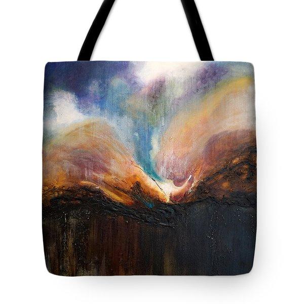 Oceans Apart Tote Bag